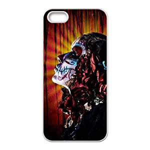 lintao diy Customized case Of Artistic Skull Hard Case for iPhone 5,5S
