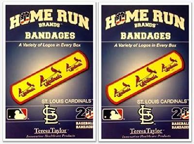 St Louis Cardinals Bandages x 2 box (total 40 pcs)