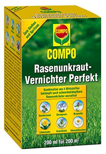 Compo 25389 Rasenunkraut-Vernichter Perfekt