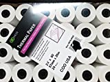 Thermal Receipt Paper Rolls, 2-1/4in X 85' 24Pack