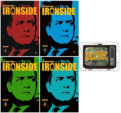 Ironside: TV Series Complete Seasons 1-4 DVD Collection with Bonus Art Card
