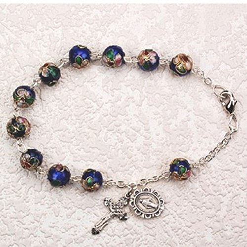 Women's Catholic Rosary Bracelet, 7 1/2