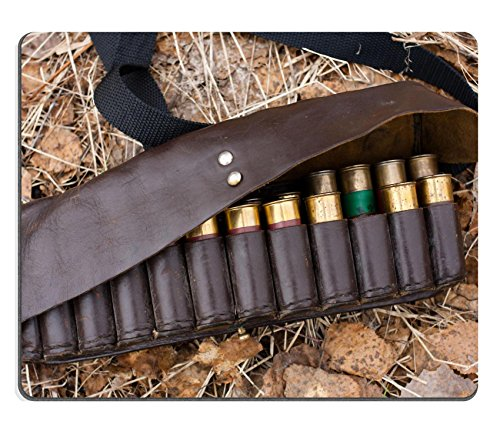Qzone Mousepads An old and worn cartridge leather belt with 12 gauge shotgun shells IMAGE 28912350 Customized Art Desktop Laptop Gaming mouse Pad