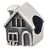 Home Charm 925 Sterling Silver Family Charm House Charm for DIY Charms Bracelet (B)