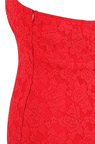 Lace Neck Women's Mermaid Robes Soiree V Angel Noir Longs fashions Halter Rouge UaxnwpUSY