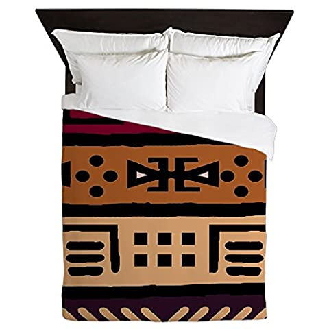 CafePress - Shango Tribal Pattern - Queen Duvet Cover, Printed Comforter Cover, Unique Bedding, Luxe