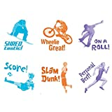 Educational Insights Self-Inking Photo Stamps, Sports