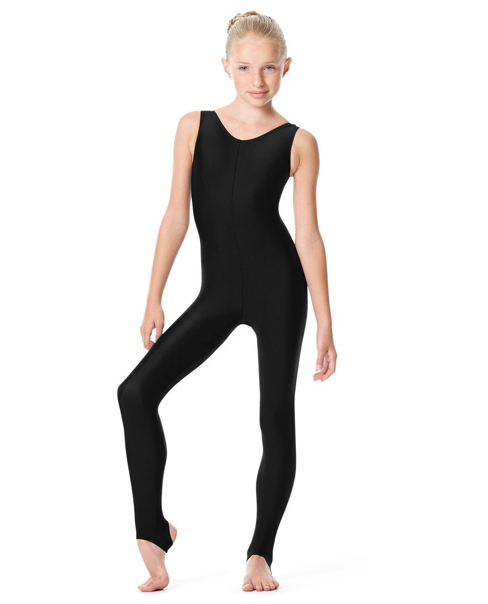 Calla Dancewear Girls Tank Unitard Matilde 14 Black by Calla Dancewear
