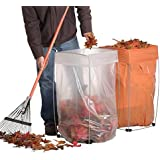 Trash Bag Holder - Multi-Use Bag Buddy Support Stand (30 - 33 Gallon Bags)