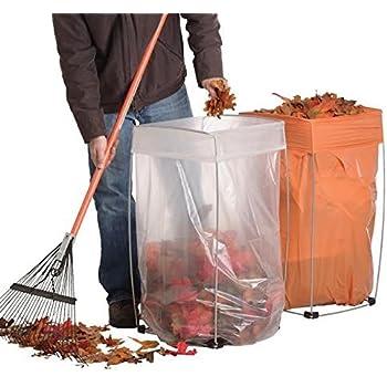 trash bag holder multi use bag buddy support stand 30 33 gallon bags home. Black Bedroom Furniture Sets. Home Design Ideas
