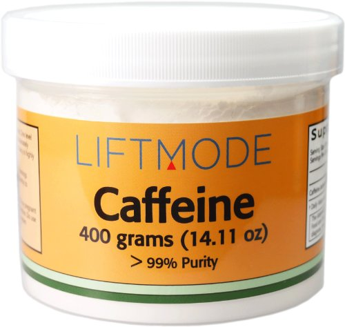 Caféine (anhydre) - 400 grammes (14.11 oz) - 99% Pure - FBA