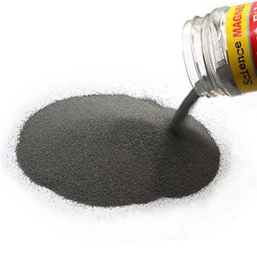 CMS MAGNETICS 12 oz Iron Powder for Magnet Education Iron Filing