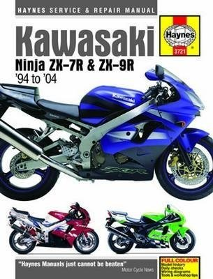 51Yqi%2BhJ1GL amazon com kawasaki ninja zx 7r and zx 9r haynes repair manual wiring diagram zx7r troubleshooting at soozxer.org