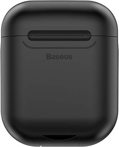 Baseus - Funda protectora de silicona compatible con AirPods de 5 ...