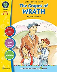 The Grapes of Wrath - Novel Study Guide Gr. 9-12 - Classroom Complete Press