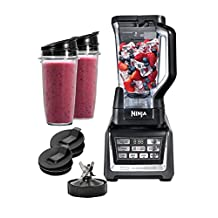 SharkNinja BL640C Blender Duo with Auto-iQ, Chrome/Grey