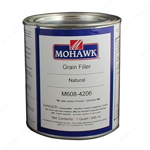 Grain Filler & Solvent - M6084206 - Finish Natural, Size 33 oz by handyct