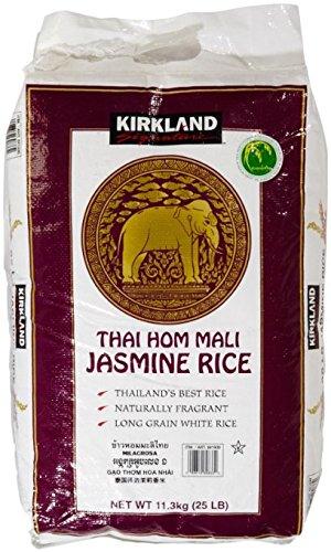 Kirkland Signature Jasmine Rice, 25 Pound