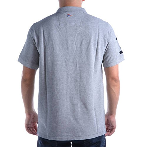 Gaastra Herrenshirt Bernal Icon Polo St.Barth Gr. L 80 35700368 Grau H73 Herren Polo Shirt