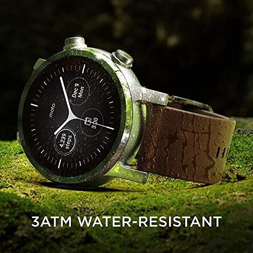 MOTO Motorola 360 3rd Gen Smartwatch - Rostfritt stål skal, En storlek, stålgrå