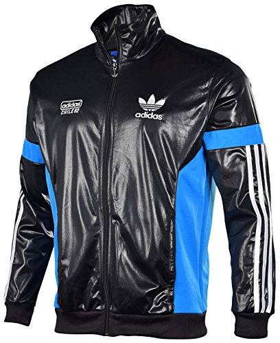 Adidas Originals Men s Chile 62 Track Top Jacket-Black Sol Blue - Buy  Online in UAE.  d9a3ad48ec1a1