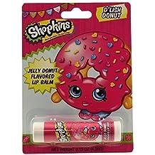 Shopkins D'Lish Donut Lip Balm ~ Jelly Donut Flavored (2 Pack)