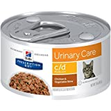 Hill's Prescription Diet c/d Multicare Urinary Care Chicken & Vegetable Stew Canned Cat Food 24/2.9 oz