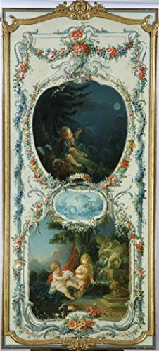 Boucher Costume Jewelry (The Perfect effect Canvas of oil painting 'Francois Boucher (Workshop of) - The Arts and Sciences Astronomy and Hydraulics, 1750-52' ,size: 16x35 inch / 41x90 cm ,this Imitations Art DecorativeCanvas Prints is fit for Hallway gallery art and Home decor and Gifts)