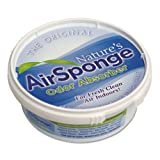 Nature's Air Odor-Absorbing Replacement Sponge, Neutral, 24/Carton