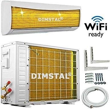 A++//A++//A+ TrioSplit WiFi//WLAN Golden-Fin 12000+12000+12000 BTU MultiSplit Klimaanlage Inverter Klimager/ät Heizung