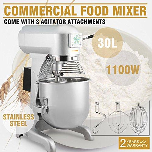 20 Quarts Dough Mixer Mix Dough - 3