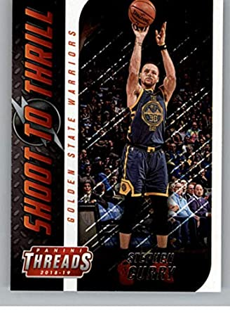 c4d78978cfc55 Amazon.com: 2018-19 Panini Threads Shoot to Thrill Basketball #3 ...