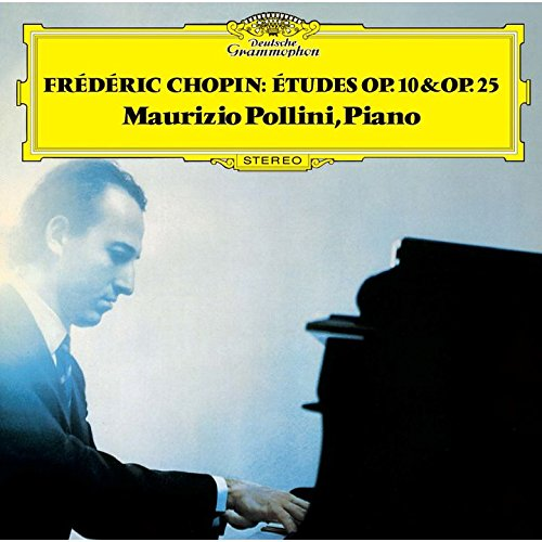 SACD : POLLINI,MAURIZIO - Chopin: Etudes Op 10 & Op 25 (Limited Edition, Direct Stream Digital, Super-High Material CD, Japan - Import, Single Layer SACD)