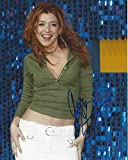 ALYSON HANNIGAN - Best Known for Her Roles as WILLOW ROSENBERG on TV Series'BUFFY the VAMPIRE SLAYER' and Lily ALDRIN on Sitcom'HOW I MET YOUR MOTHER' Signed 8x10 Color Photo