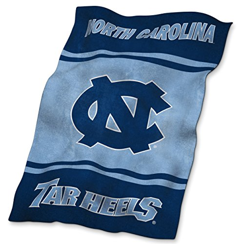 NCAA North Carolina Tar Heels Ultrasoft Blanket (North Carolina Comforter)