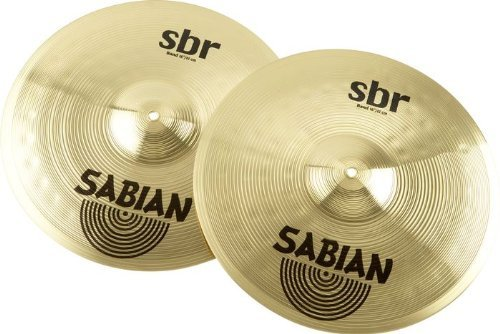 Sabian SBR1622 16-Inch SBR Concert Band Hand Cymbals - Pair Sabian Inc.