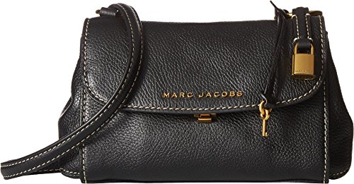 Marc Jacobs Women's Mini Boho Grind Bag, Black/Gold, One Size ()