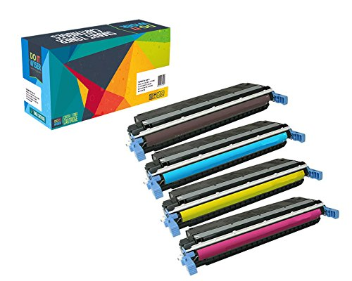 Do it Wiser Remanufactured Extra High Yield Toner Cartridges for HP 507X LaserJet Enterprise HP M551n M551dn M551xh M570dw M570dn M575c M575dn M575f - 4 Pack Extra High Yield Color Laser