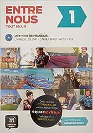 Entre Nous 1 Méthode de Français A1 +cahier + CD + código