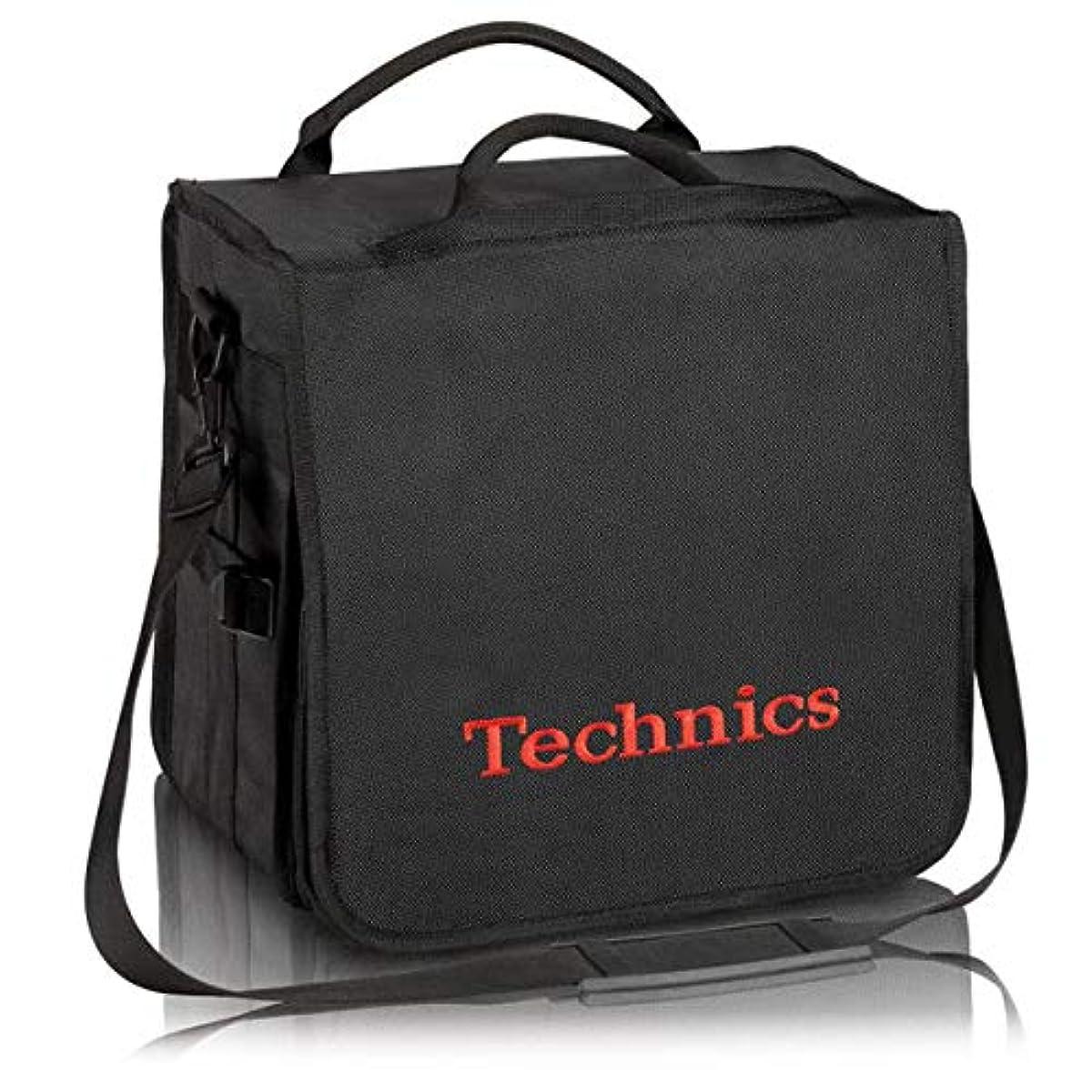 [해외] TECHNICS테크닉스 / BACKBAG BLACK/RED 레코드 약60 매수납가 레코드 화이트