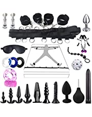 23PCS Couple Sex Suit Toys Bondage Gear Set Adjustable Comfortable Accessory Couple Game Adult Fun Cosplay Toys for Couples