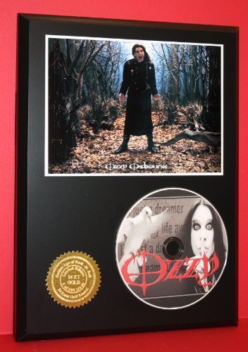 (Ozzy Osbourne Limited Edition Picture Disc CD Rare Collectible Music Display)