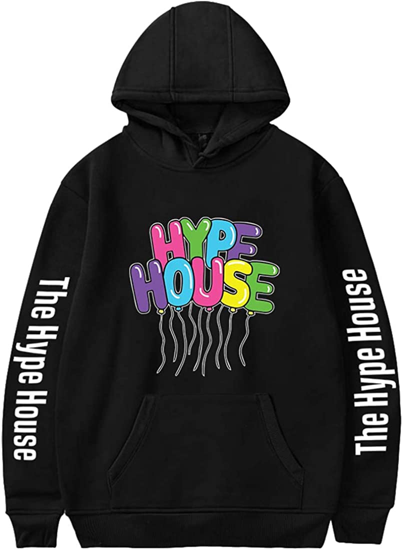 Hype House Hoodies,Frauen Hoodiemit The Hype House Charli D