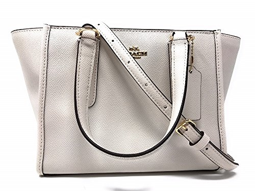 Crossbody Leather IM Chalk COACH Crossgrain Crosby 21 Carryall 5qw5UX7
