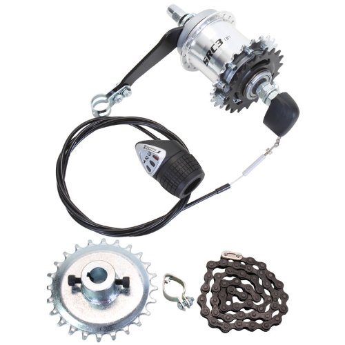 Sun 3-Speed Coaster Brake Hub Conversion Kit for Adult 3-Wheeler
