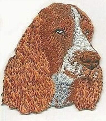 """3/"""" Springer Spaniel Dog Embroidery Patch"""