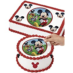 Wilton 710-7069 Mickey Mouse Edible Images Cake Decorating Kit, Multicolor
