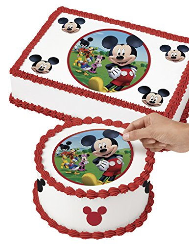 Wilton 710-7069 Mickey Mouse Edible Images Cake Decorating Kit, Multicolor -