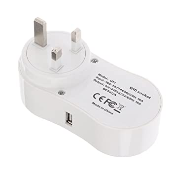Segolike Wireless WIFI Smart Plug Outlet Voice Controlled