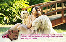 Pink Paws Poop Bags, 360 Waste Bags For Dogs, Earth Friendly, Every Purchase Supports Breast Cancer Research
